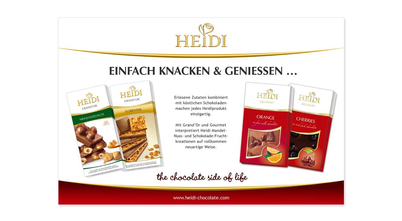 HEIDI Anzeige